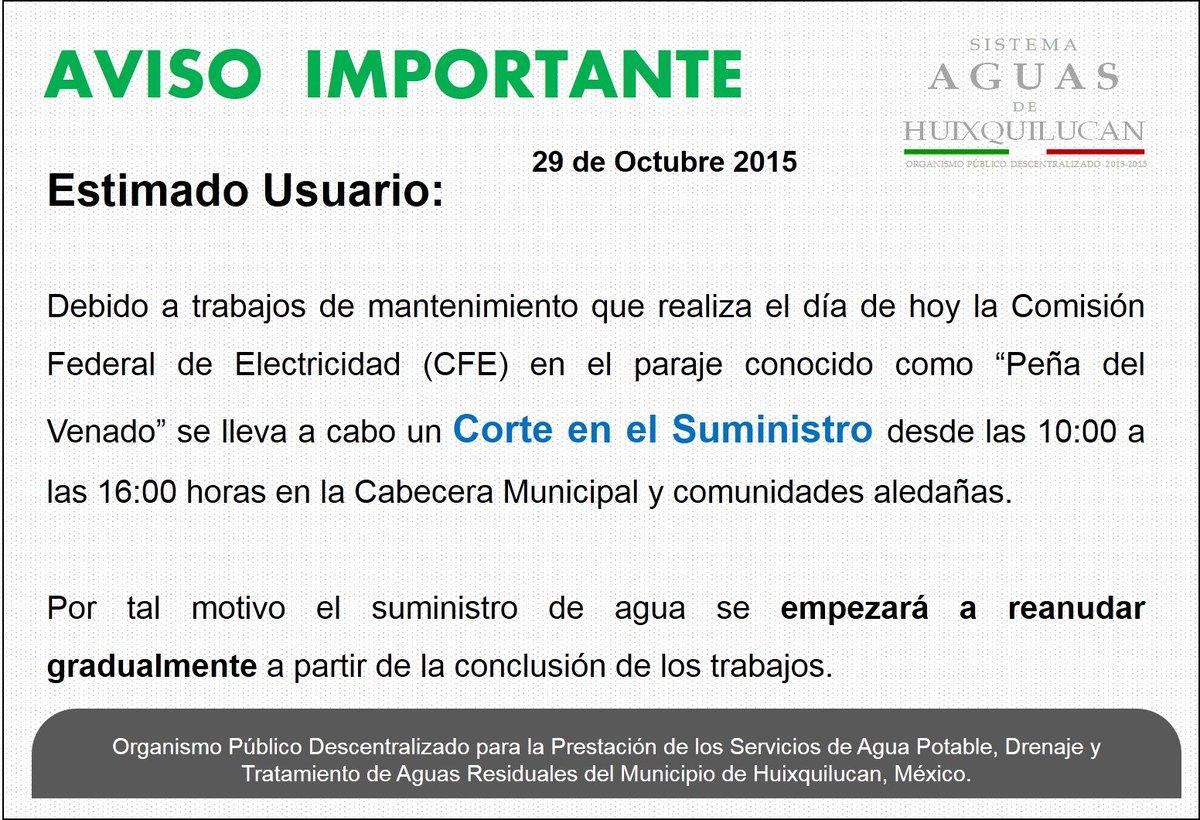 SAguasdeHuixquilucan - @SAHuixquilucan Twitter Profile | Twipu