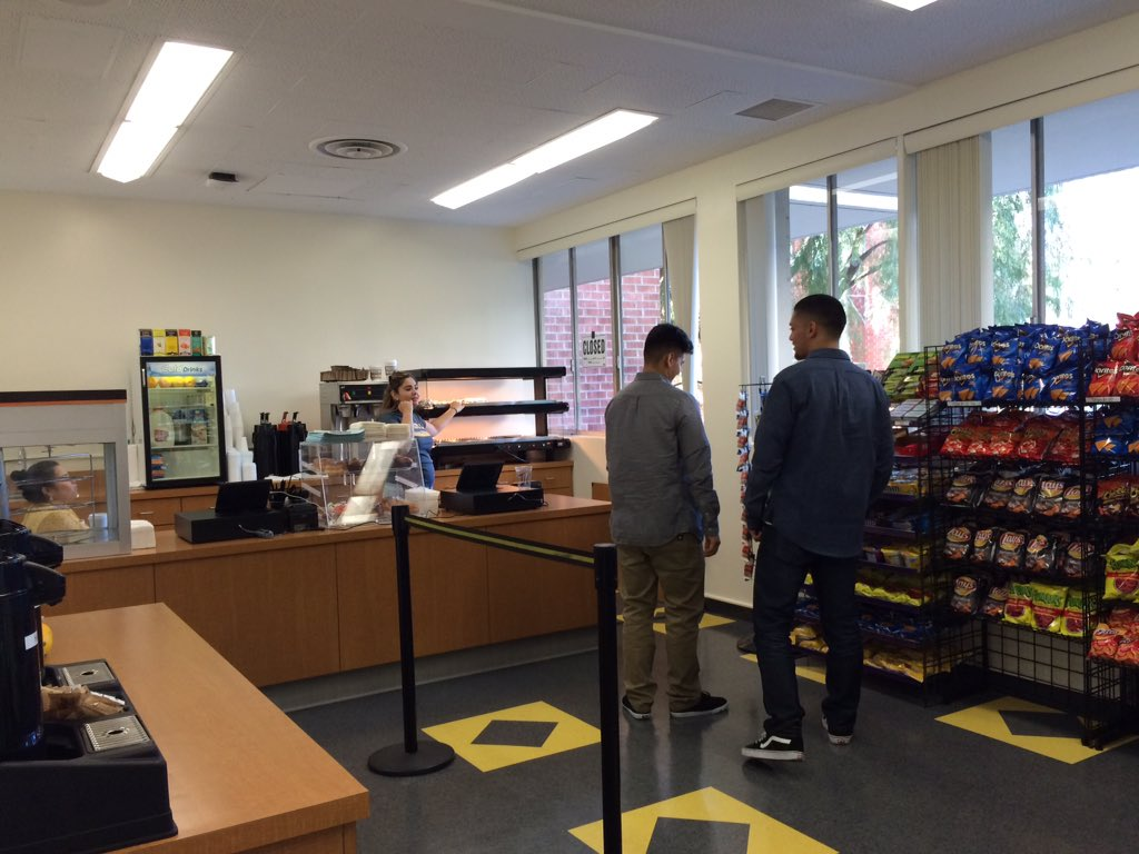 Cal State La On Twitter Cafe At The B Wing Of King Hall At Calstatela Now Open Coffee Chips Fruits Muffins Hot Food Served Here Https T Co Uzamwue9ko