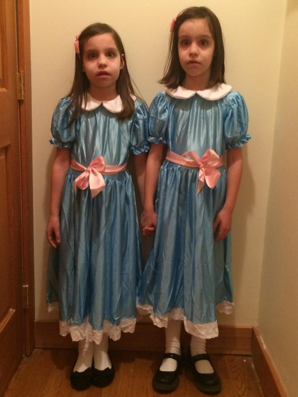shining grady twins on twitter bradhaque they look adorable ly scary such a lovely tribute thank you and them for ever ever xx