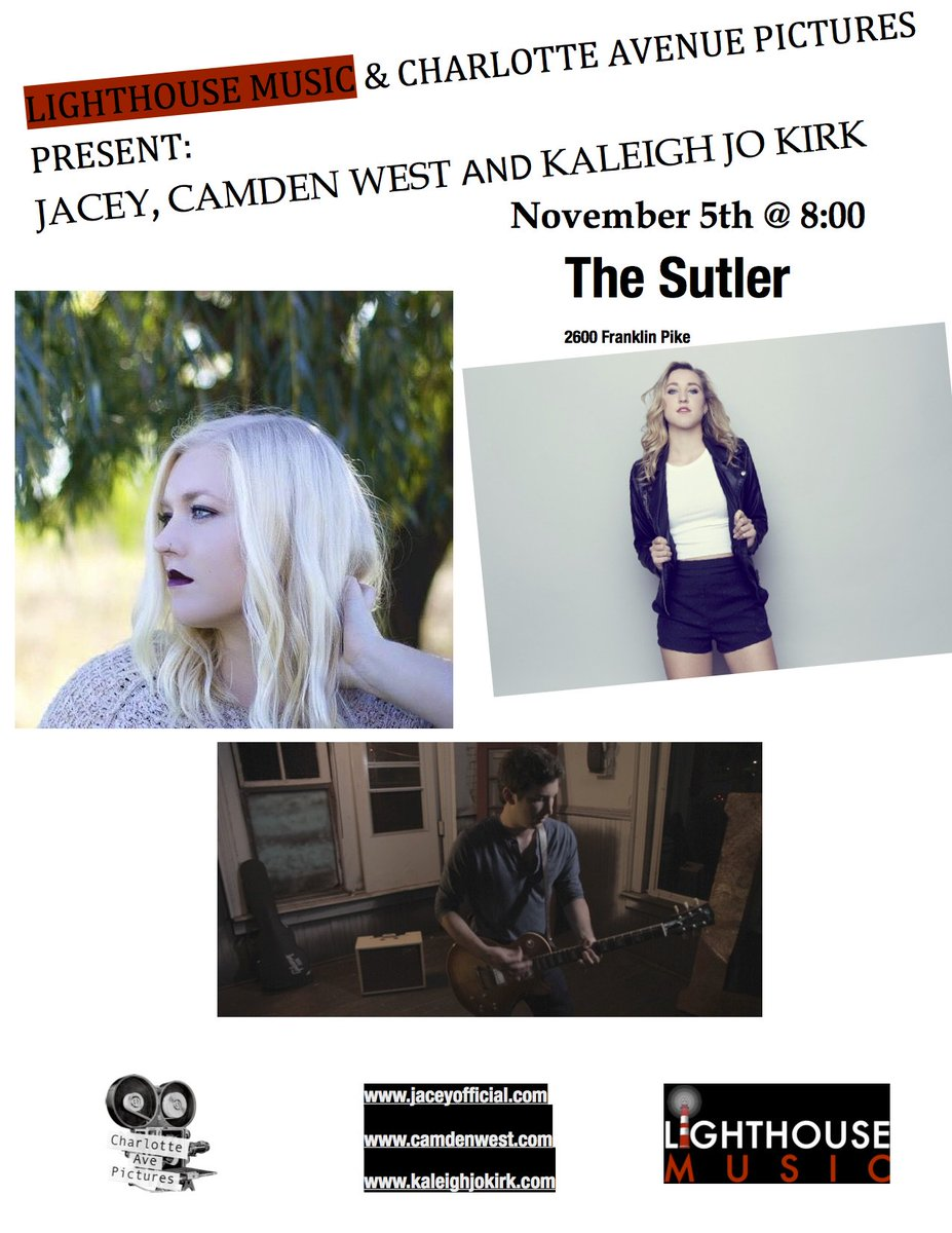 Gonna be a great show next week! @Jacey_Mary @camden_west https://t.co/v1xkItvdWR
