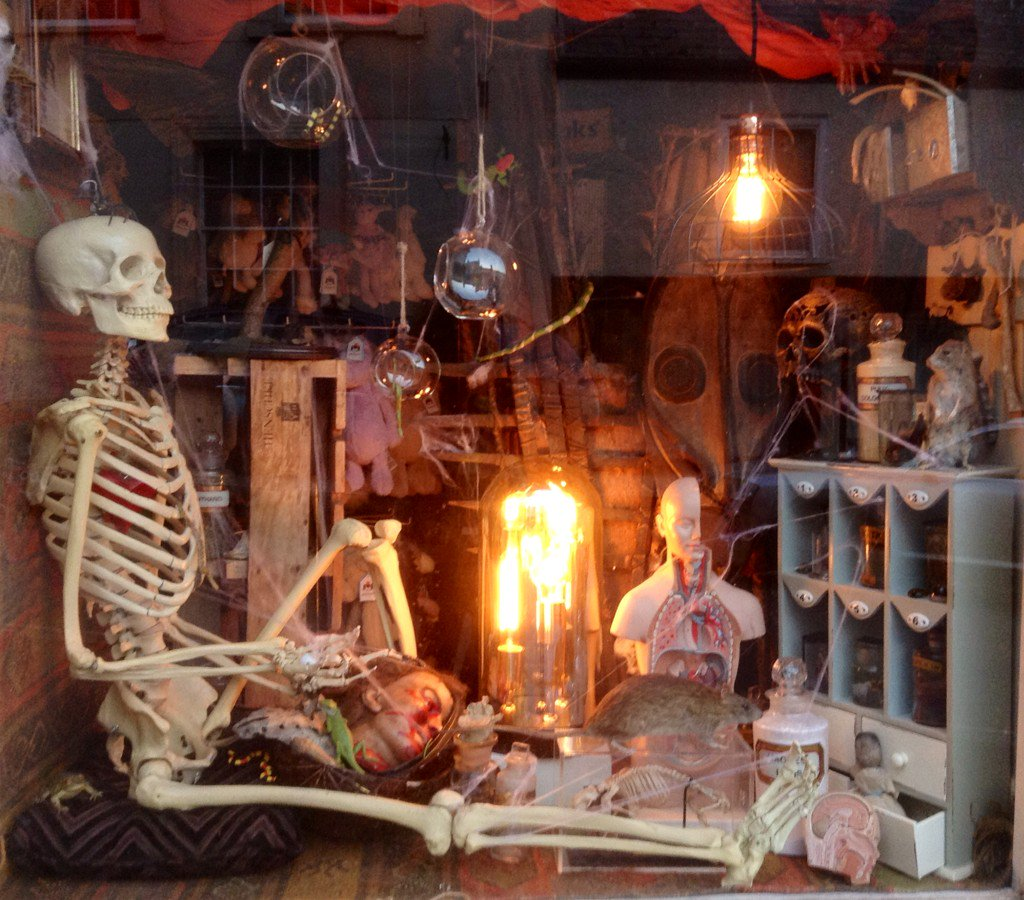 Halloween Shop Displays.Alison Mckinley On Twitter Getting Spooky In Wiveliscombe Our