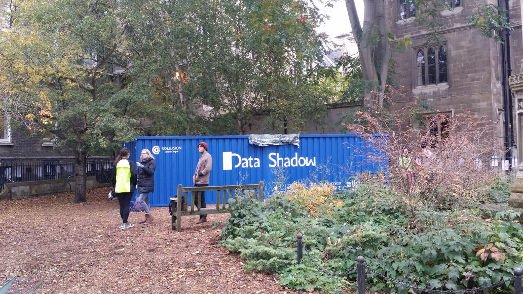Must visit, if you haven't been. #DataShadow by @markfarid at All Saints Garden. Experience vulnerability of data. https://t.co/JBeNZUDgFK