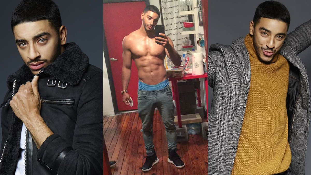 "Logo 🏳️‍🌈 on Twitter: ""Meet trans model Laith Ashley De La Cruz ..."