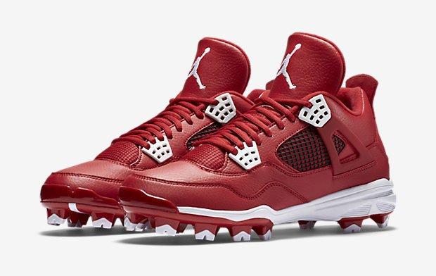 Air Jordan 4 baseball spikes