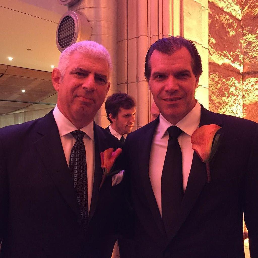 Honorees Rob Light '78 and Sean Carey '89 #NewhouseSU #50Forward https://t.co/IxBbVejgus https://t.co/0wJu1wxdax