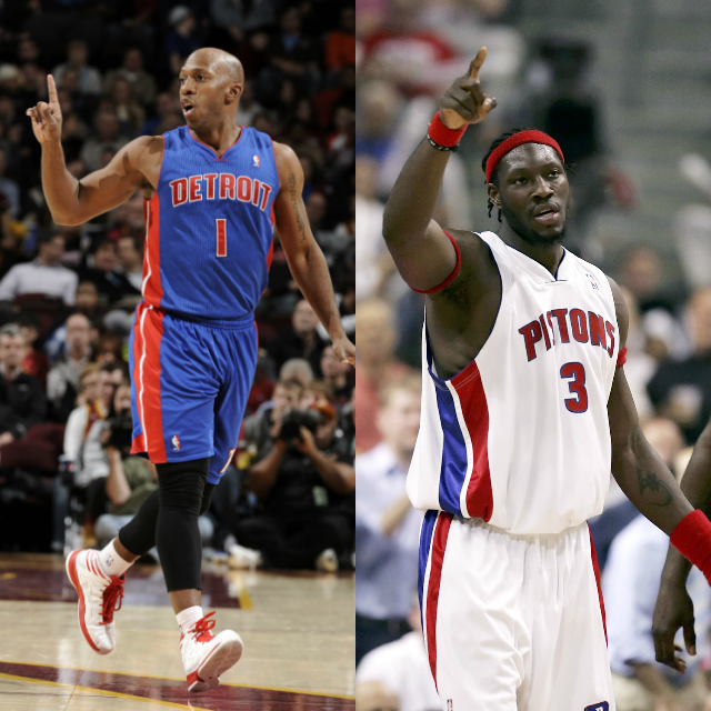 Pistons will retire Chauncey Billups' #1 and Ben Wallace's #3 later this season. (via Detroit Free Press)