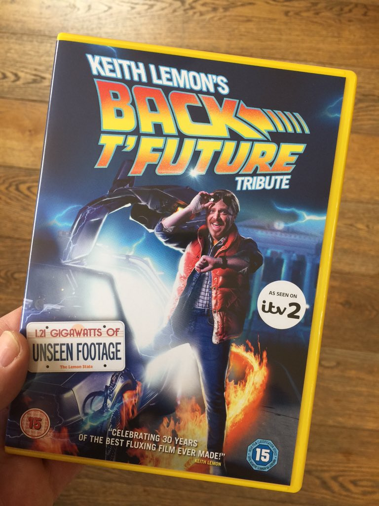 BTTF tribute on again! It's also out on DVD with 53 minutes of extras https://t.co/5gHB9YDQo2