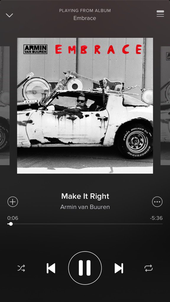 SHE'S here!!!!!!! Check out my song MAKE IT RIGHT out NOW with the incredible @arminvanbuuren ❤️ love you bbis xx https://t.co/Ihe3NHKKj6