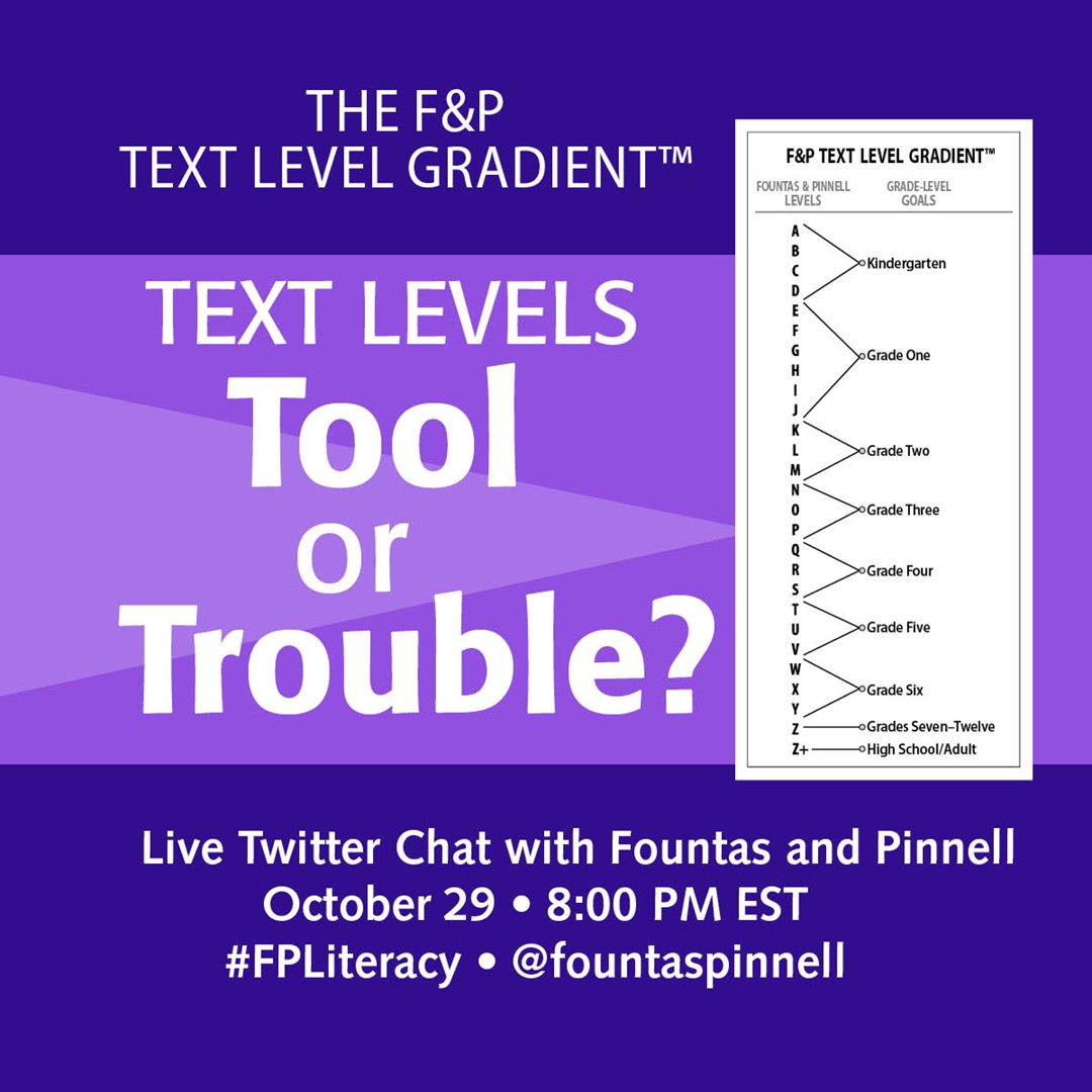 Thumbnail for The F&P Text Level Gradient™ - Tool or Trouble?