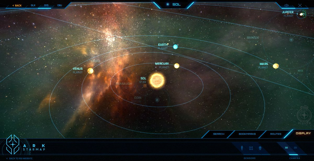 Jono Yuen On Twitter Awesome Interactive Star Map For Star Citizen - Interactive space map