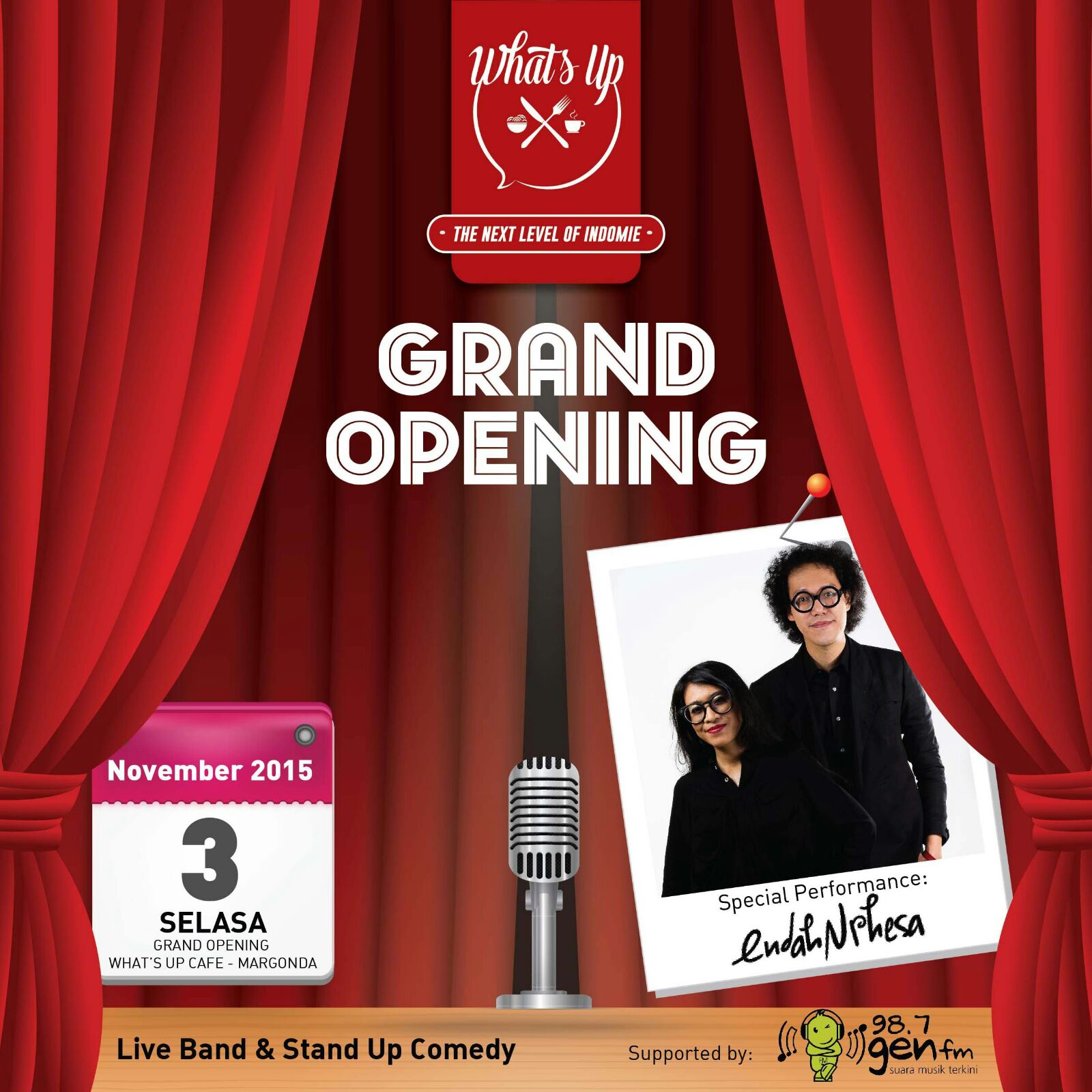 """what's up cafe on twitter: """"grand opening whats up cafe. gurst"""