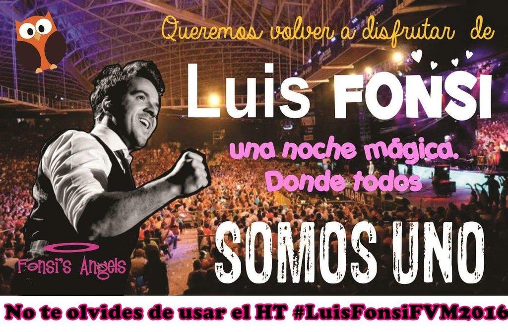 Todos los días a partir de las 22 hs/Arg. Pedimos a #LuisFonsi para el Festival Villa Maria 2016. @AnfiVillaMaria https://t.co/QtFkWIKDGd