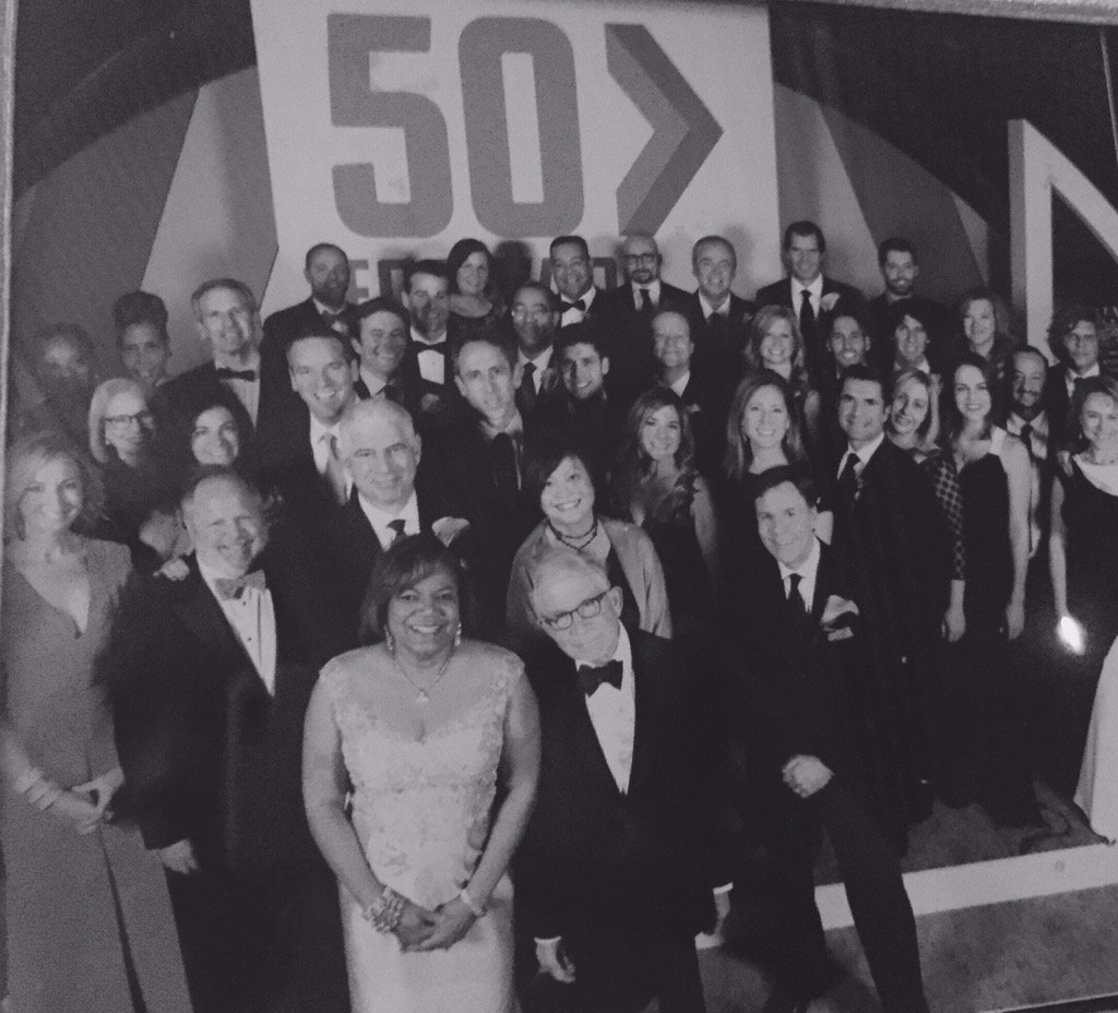Honored to be among the #50Forward  @NewhouseSU  honorees tonight! Congrats to my fellow Orange! https://t.co/GyEMSyA9Er