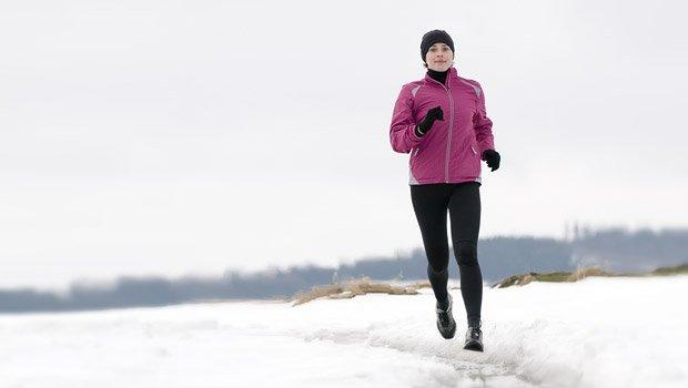 Бег зимой для похудения результаты