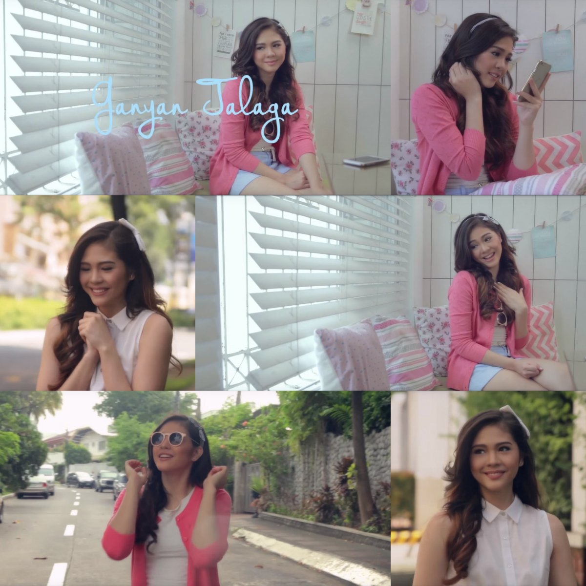 Girly and preppy! Yes, we're lovin' @superjanella's #LoveByBayo outfits in her Ganyan Talaga MV. <3 https://t.co/mpkjwv9nrS