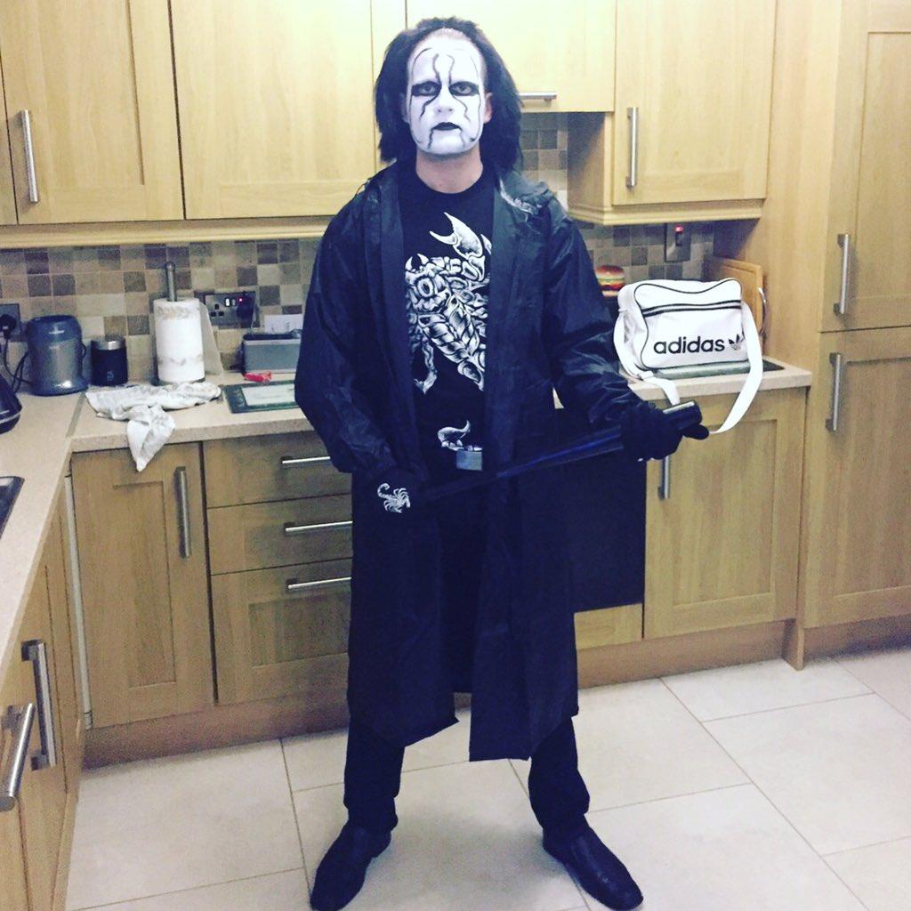 sting sting wcw wwe halloween fancydress costume halloweencostume pictwittercomkp9f0hnndh