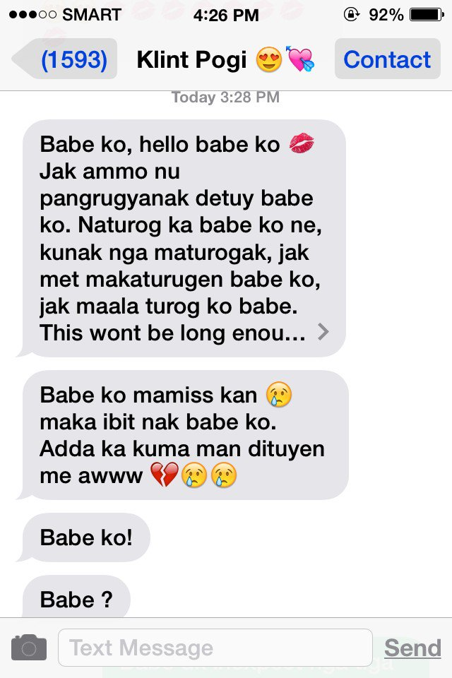 Madison : Long message tagalog for crush