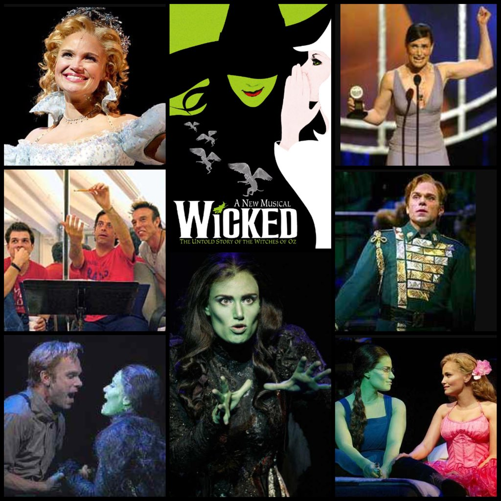 Defying Gravity! @WICKED_Musical took flight 12yrs ago today & has played over 5,000 performances!  #Wonderful https://t.co/t4gVDg6Prj ^