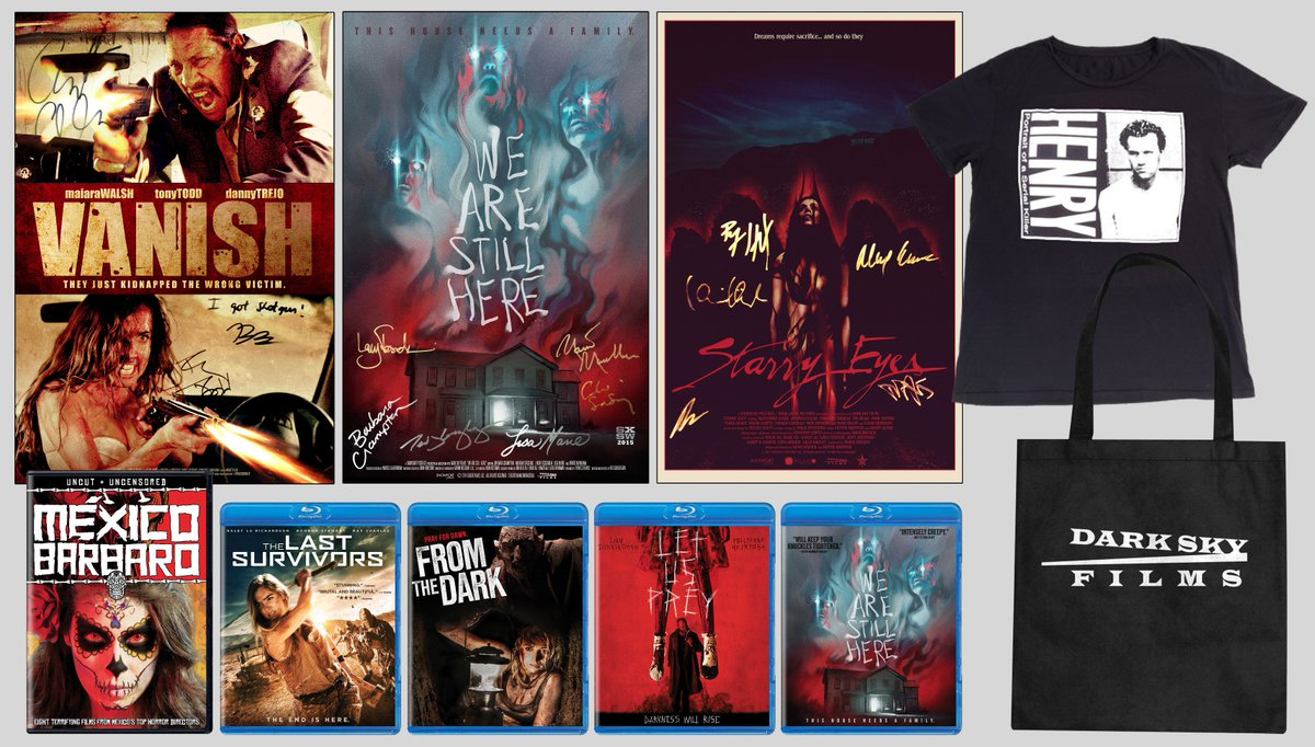 HAPPY HALLOWEEN FROM @darkskyfilms!  Follow us + RT this by 12pm EST Nov. 1st to win our Halloween DSF prize pack! https://t.co/b7JX3w0Tq1