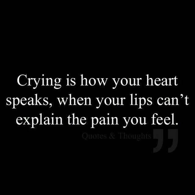 """Giv Cry Sad Love: Unfold Your Wings On Twitter: """"It's Ok To Cry,sometimes It"""