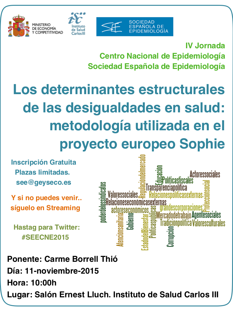 Thumbnail for Los determinantes estructurales de las desigualdades en salud: metodología utilizada en el proyecto europeo SOPHIE
