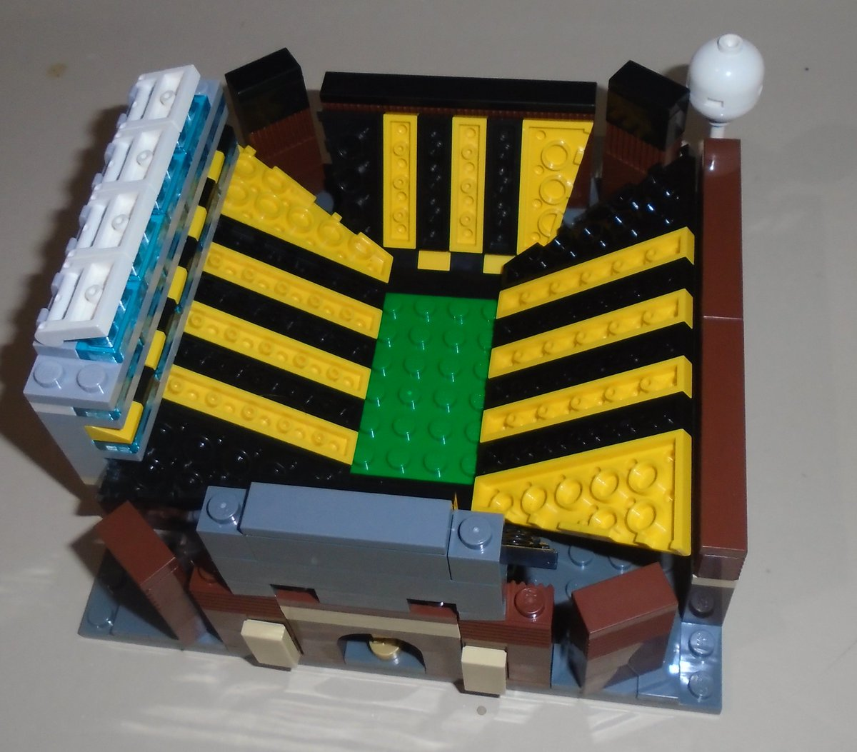 """Block Stadiums on Twitter: """"here's a completed view of LEGO KINNICK ..."""