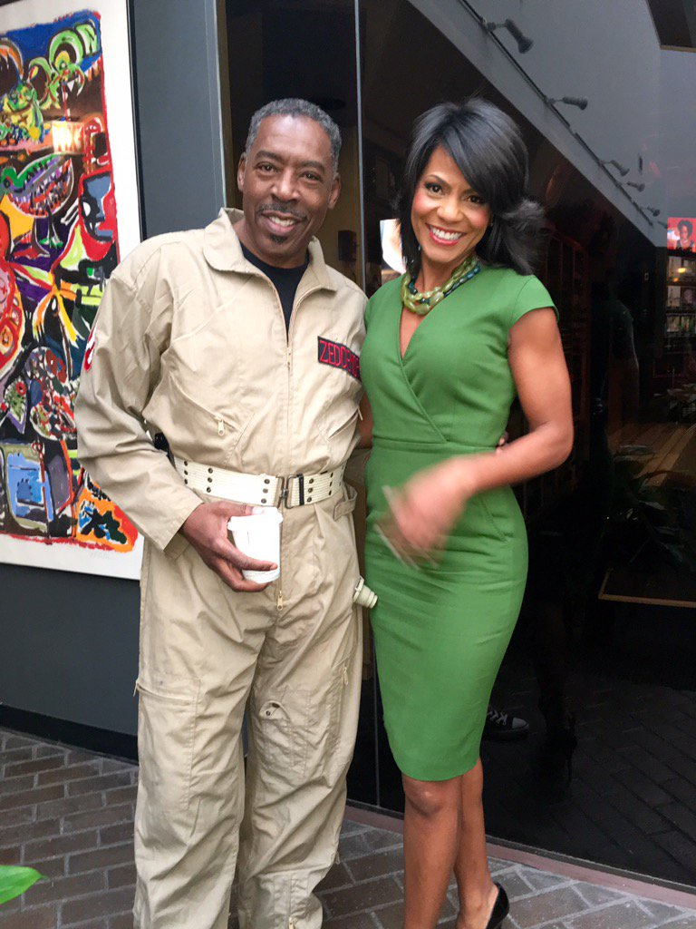 Rhonda Walker on Twitter  Who Ya Gonna Call @Ghostbusters No #Halloween Costume! A real life ghostbuster visits @Local4News @Ernie_Hudson ...  sc 1 st  Twitter & Rhonda Walker on Twitter: