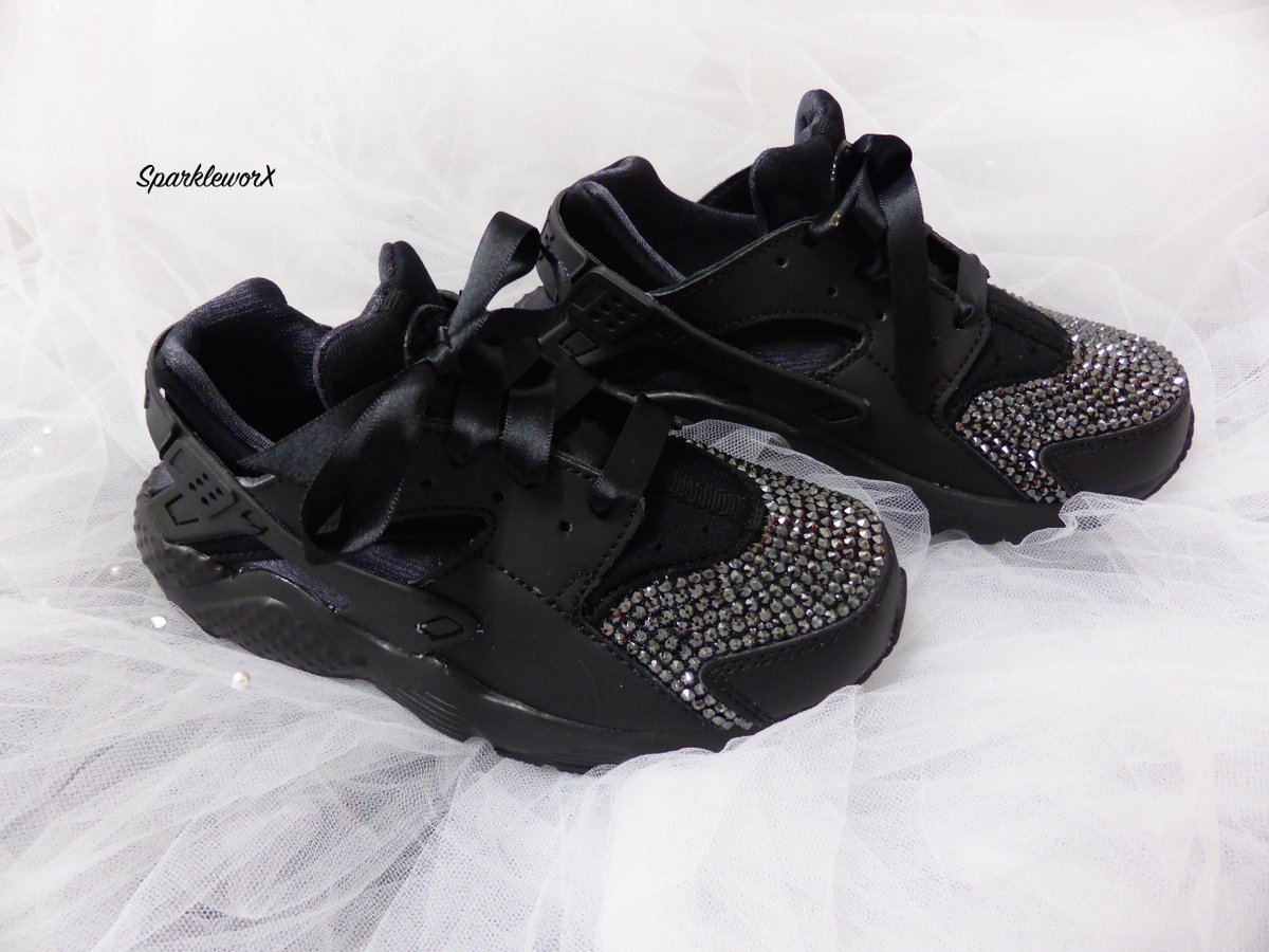 sparkly Nike Huaraches, payment plans