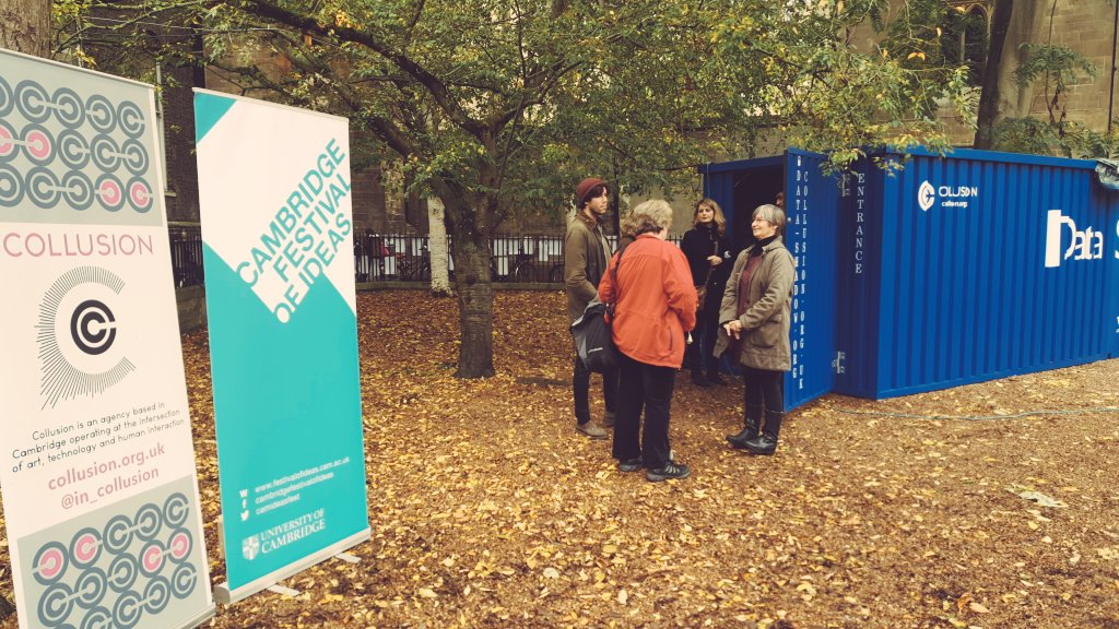 Another busy day at #datashadow #cambridge. Have u visited us yet? Supported by @ttp_plc @camideasfest #ACESupported https://t.co/vshH7NggEa