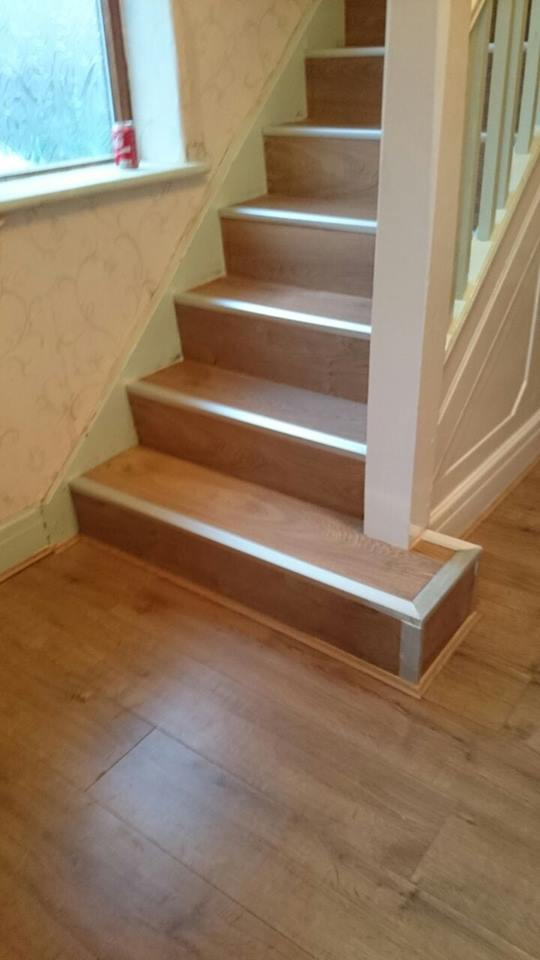 Dreamland Floors On Twitter New Laminate Floor Staircase Fitted