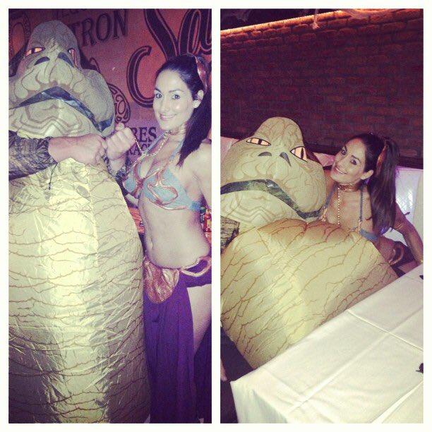Jabba and leia make love