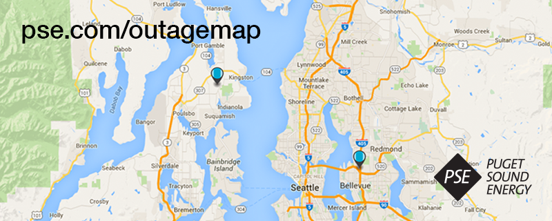 Puget Sound Energy Outage Map