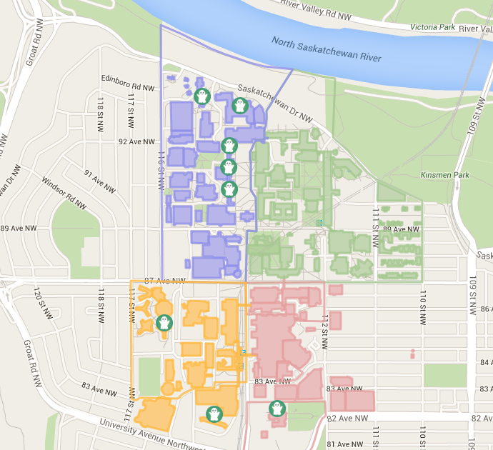 Ualberta Campus Map University of Alberta on Twitter:
