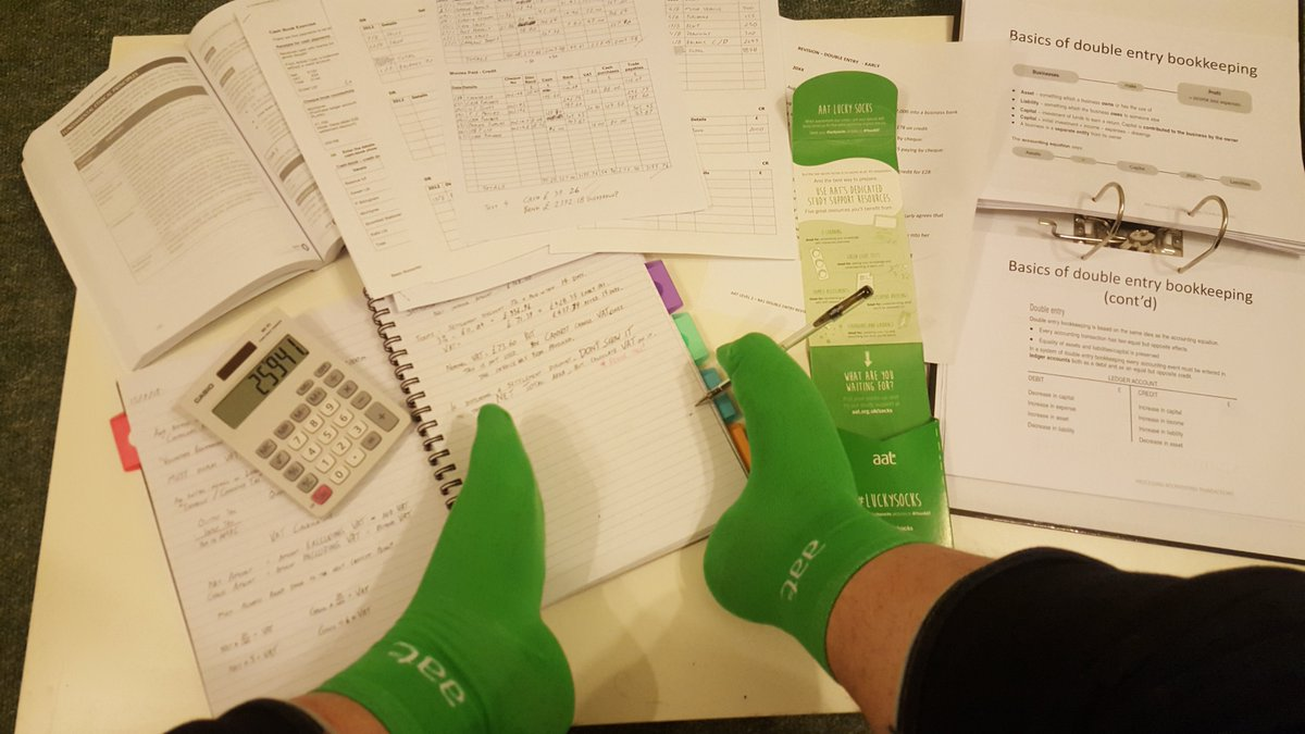 @YourAAT Instructions on #LuckySocks unclear; made feet revise for exams.  Expect 100% Pass Mark. https://t.co/UpBjNMIKcf
