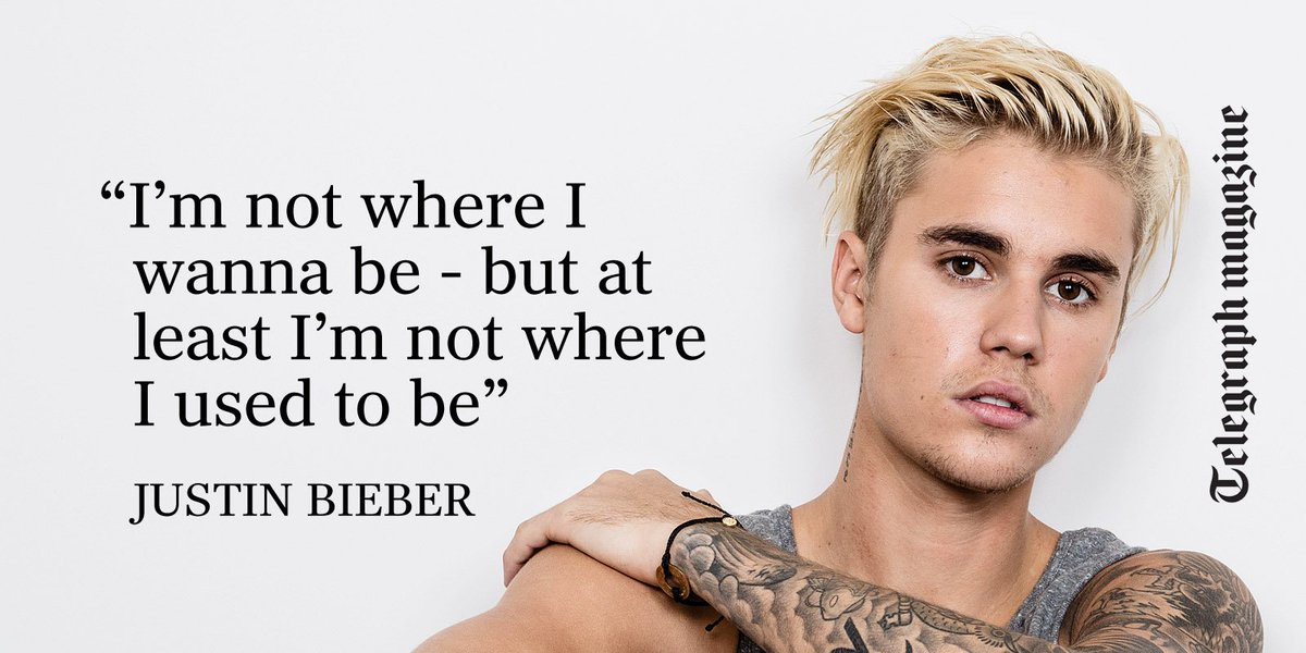 Our exclusive interview with @justinbieber on why he's ready to be taken seriously https://t.co/3VD1fCGAbr https://t.co/f4FJk7Cz0N