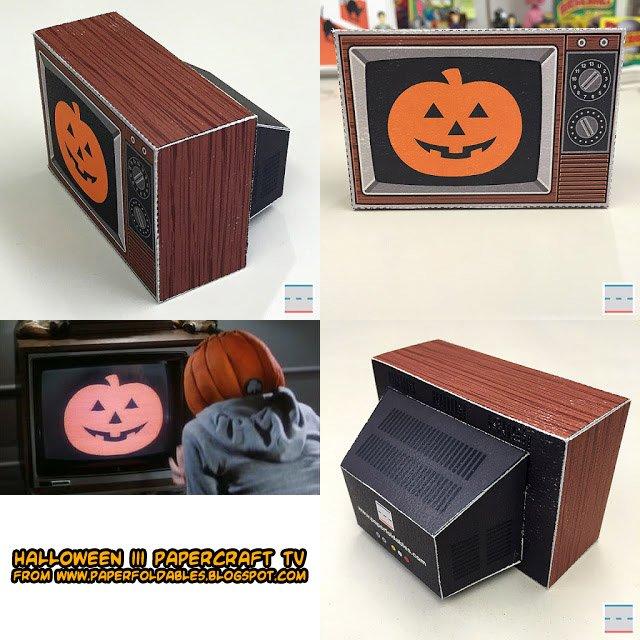 Halloween Bouwplaten.Ninjatoes Papercraft On Twitter Papercraft Halloween