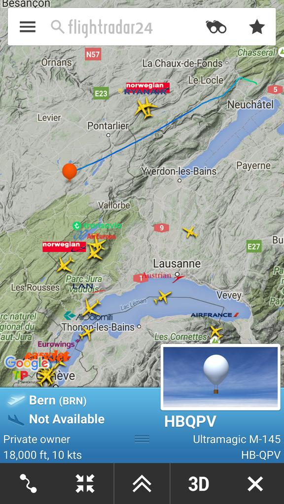 Flightradar24 on twitter craighoughton7 project loon are unmanned flightradar24 on twitter craighoughton7 project loon are unmanned helium balloons that are specifically designed to float above commercial air traffic gumiabroncs Choice Image