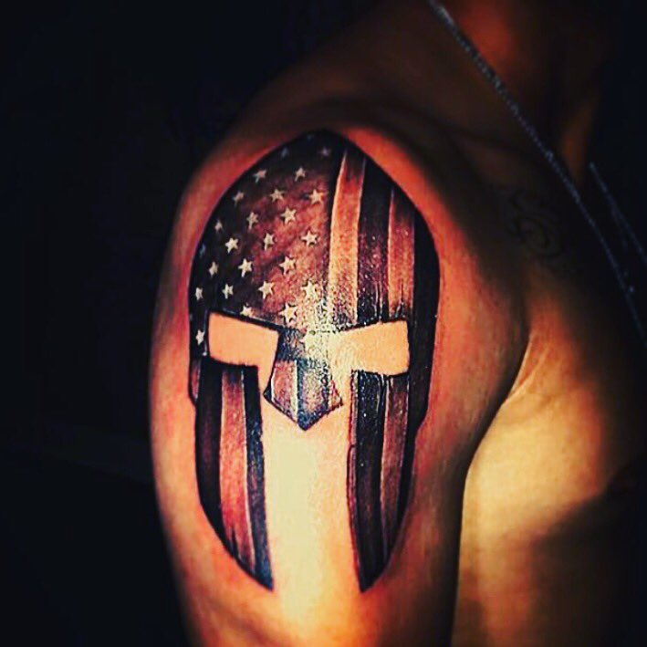 Patriotink On Twitter An Awesome Spartan Helmet And