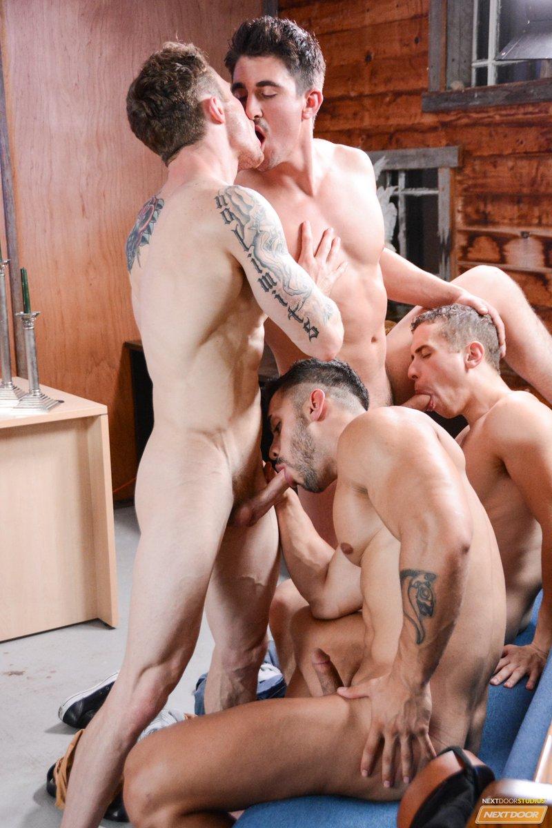 Coed sex orgy video