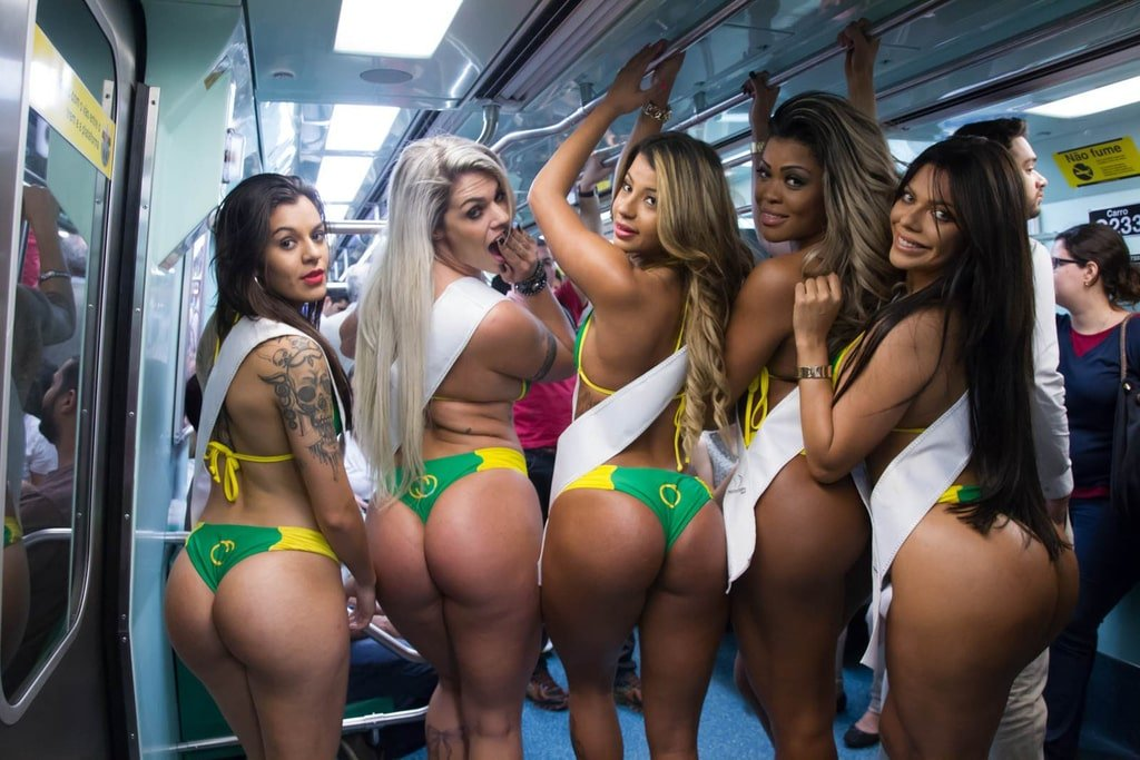 Бразильская попа видео этим
