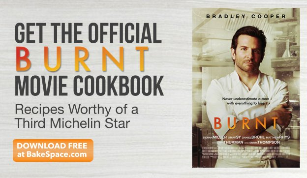 Official #BurntMovie #Cookbook: See the Movie, Eat the Food https://t.co/25hkf2saGK #BradleyCooper https://t.co/lq0BuGzza1