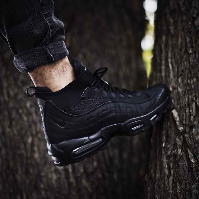 Air Max 95 Boots On Feet