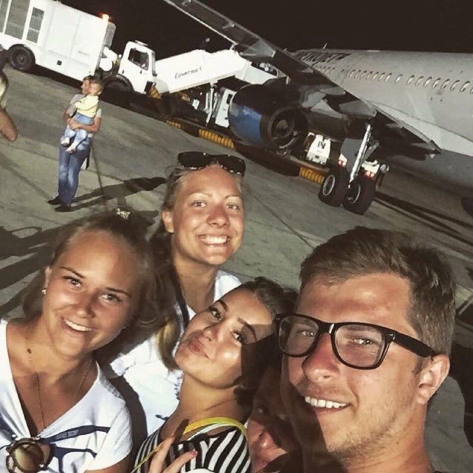 Фото экипажа разбившегося самолета в египте