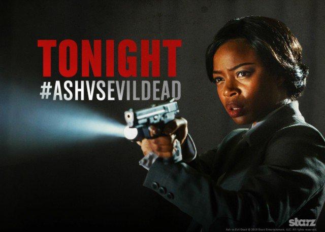 Who's Ready To Get Bloody?! TONIGHT! The #ASHvsEvilDead World Premiere! On #STARZ #AmandaFisher