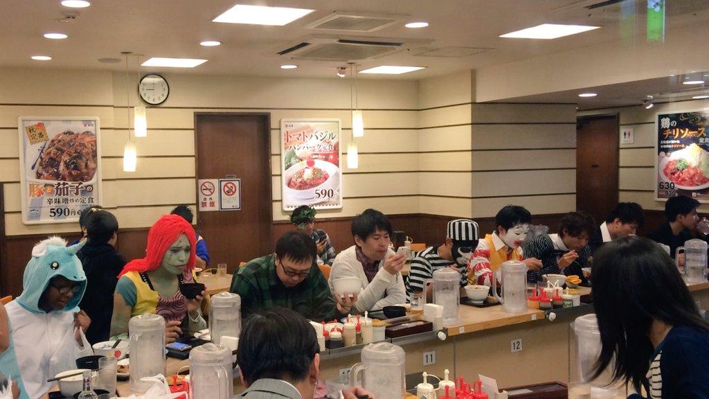 ではここで渋谷の松屋の様子をご覧下さい