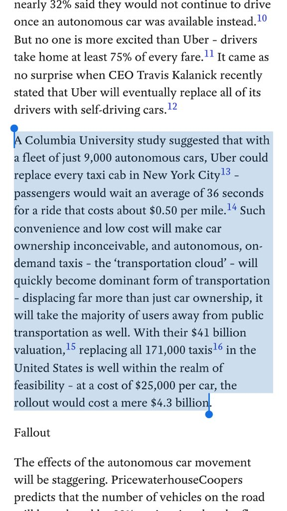 Eliminating the needs for car ownership will yield over $1T in additional disposable income https://t.co/WZh9Mgmgsi https://t.co/wThRa7tNdA