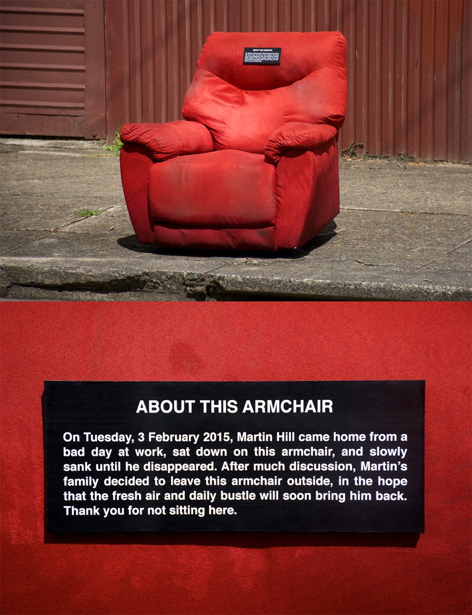 About this armchair