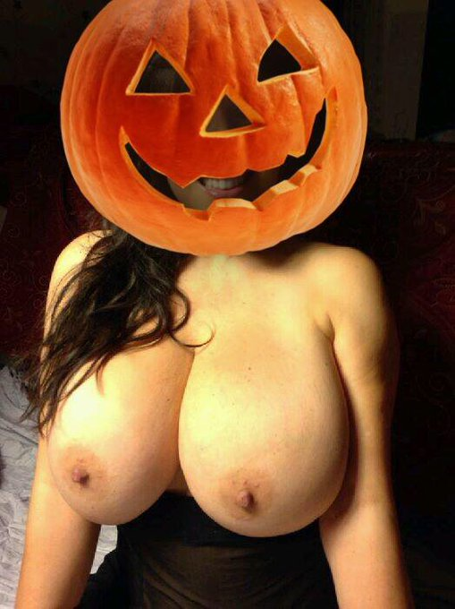 Big tit halloween nude