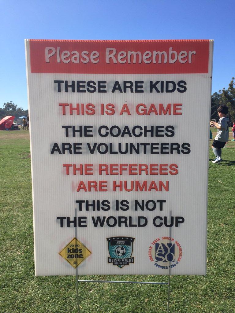Healthy reminder.  #SoccerSaturday  #HappyHalloween https://t.co/Rj267BIH4S