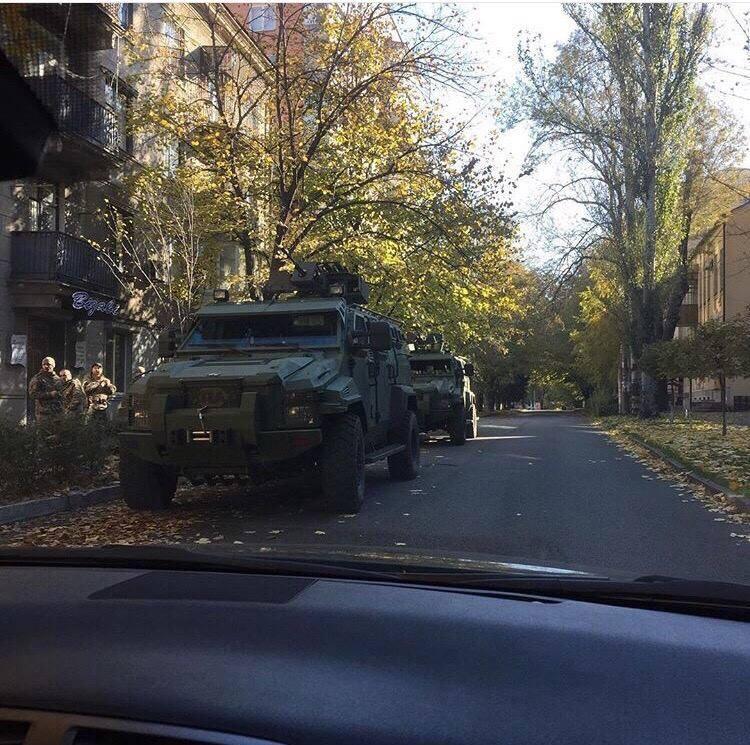 День 31 октября на Донбассе прошел спокойно. Саперы начали работу внутри сгоревшего в Сватово склада боеприпасов, - пресс-центр АТО - Цензор.НЕТ 6374